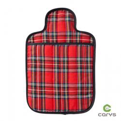 Bouillotte à motif écossais rouge - Carmilla