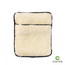 Bouillotte en laine d'agneau crème -  Sharon