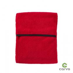 Bouillotte rouge tissus polaire - Scarlett