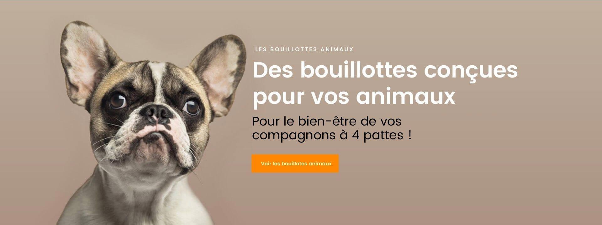 Bouillottes pour animaux