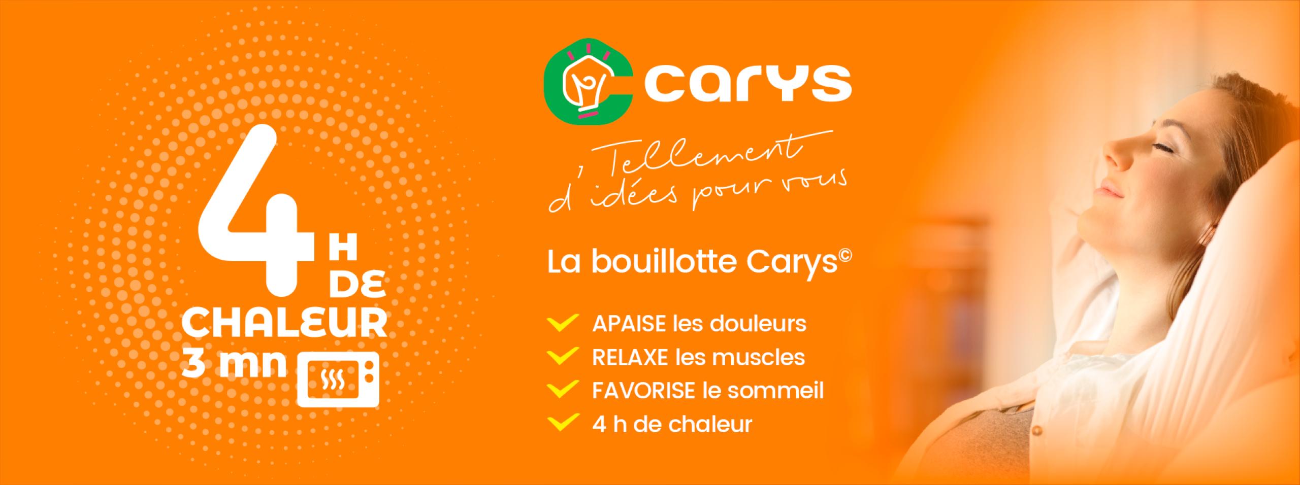 Les bouillottes Carys
